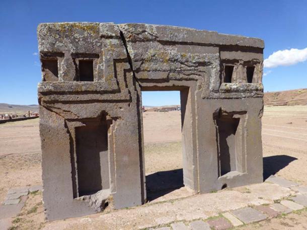 Rovine di Tiwanaku, in Bolivia.