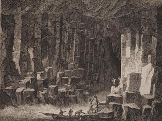 Scotia Depicta - Fingal's Cave.