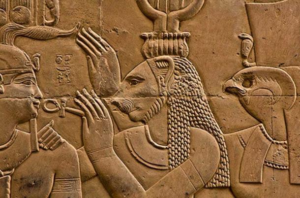 Sekhmet - Kom Ombo, Egitto (Thomas Leplus / flickr)