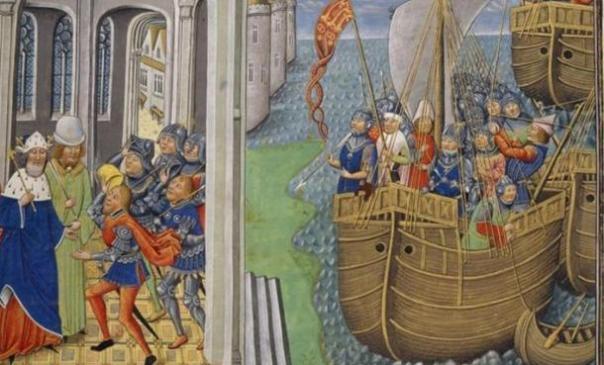 600-Year-Old Royal Ship de Enrique V encontrado enterrado en el río Hampshire