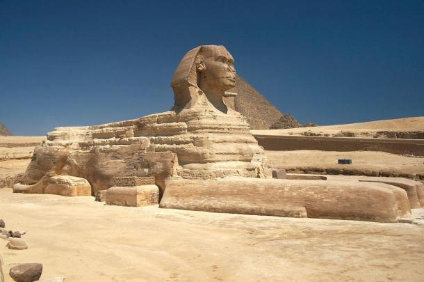 La Grande Sfinge di Giza, in Egitto