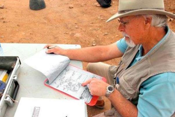 Steven Collins del Trinity suroeste Universidad de Nuevo México y su equipo han pasado más de diez años la excavación para la Sodoma bíblica.
