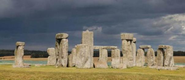 Stonehenge, Wiltshire, Inglaterra.  2.014.