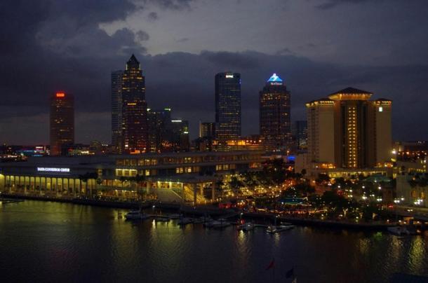 Le osservazioni del dottor Santilli sono state fatte più di Tampa Bay in Florida.