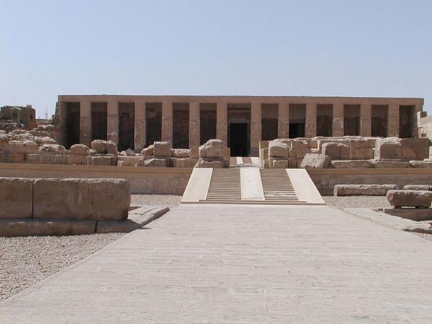 Храм Сеті I в Абідосі.