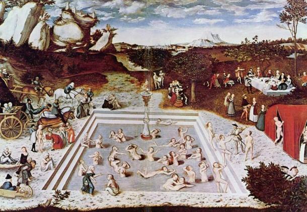 La Fontana della Giovinezza, 1546 dipinto di Lucas Cranach il Vecchio