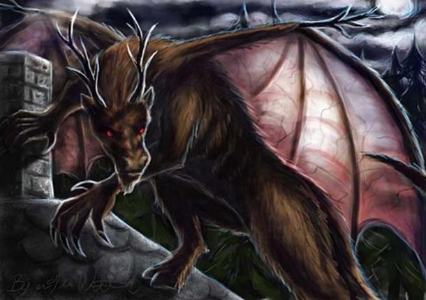 Le Jersey Devil.  (pyro-helfier / Deviant Art)