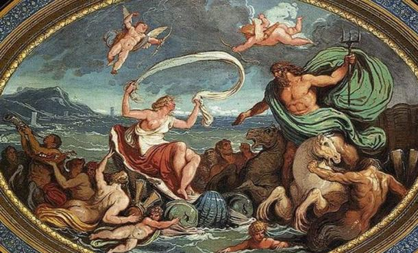 The Marriage of Poseidon and Amphitrite
