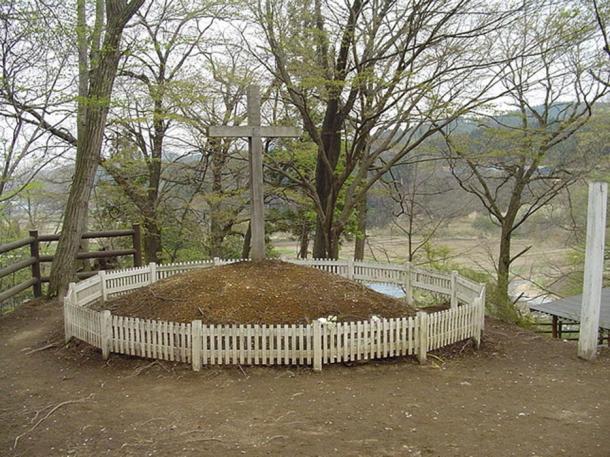 """""""Tomba di Cristo"""" (Shingo, Aomori, Giappone)."""