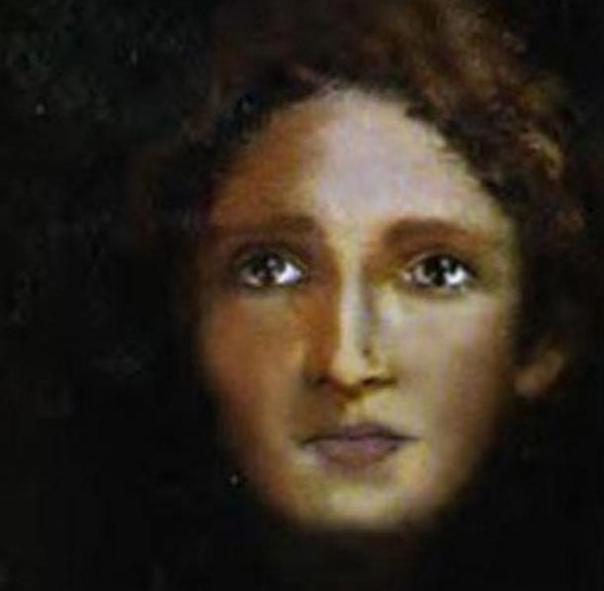 """""""Niño Jesús"""" como se muestra a partir del análisis de la Sábana Santa de Turín, en Italia."""