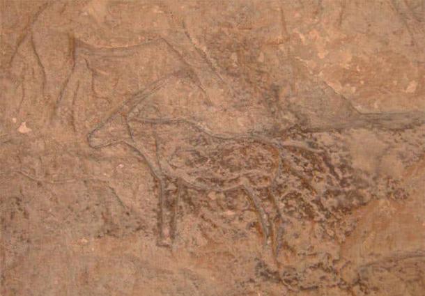 Le sculture includevano animali come cammelli, cervi, muli, capre di montagna e asini.  Foto per gentile concessione del Ministero delle Antichità