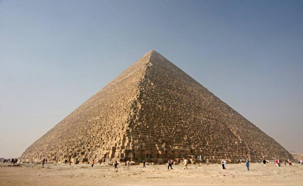 cheops pyramid - Después de décadas de búsqueda, la Calzada de la Gran Pirámide de Egipto se ha encontrado