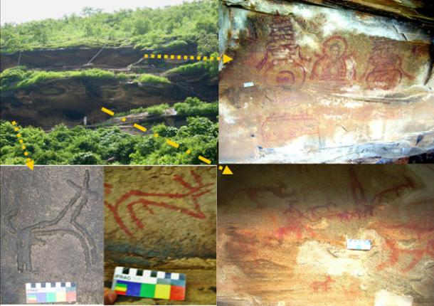 Kaimur Range Rock Art - India
