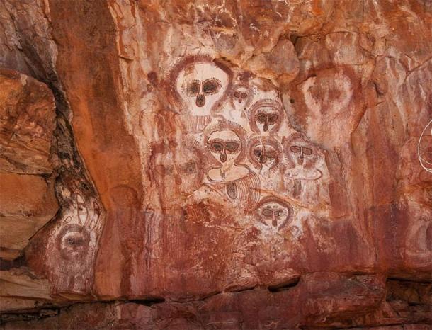 Наскальне мистецтво аборигенів на річці Барнетт, станція Маунт Елізабет.  (Graeme Churchard / CC BY 2.0)