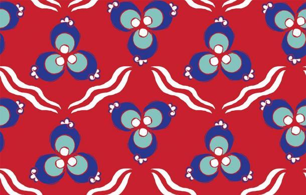 Turkish Cintamani seamless pattern (EnginKorkmaz/ Adobe Stock)