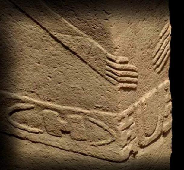 "I pilastri a Göbeklitepe raffigurano il segno ""H"""