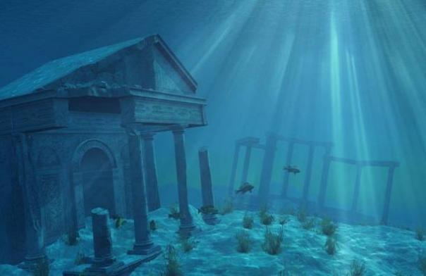 Representación artística de Atlantis.