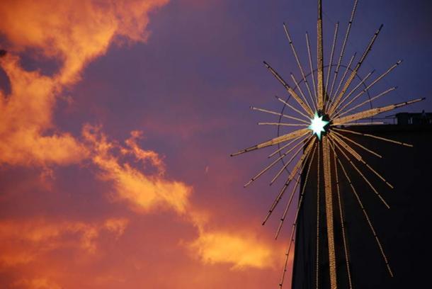 Era la stella visibili solo per breve tempo prima dell'alba?