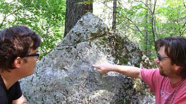 """""""Mysterious stone carvings hidden in the wilderness of the Castle Crags region could prove to be a clue in solving the mystery of J.C. Brown."""""""