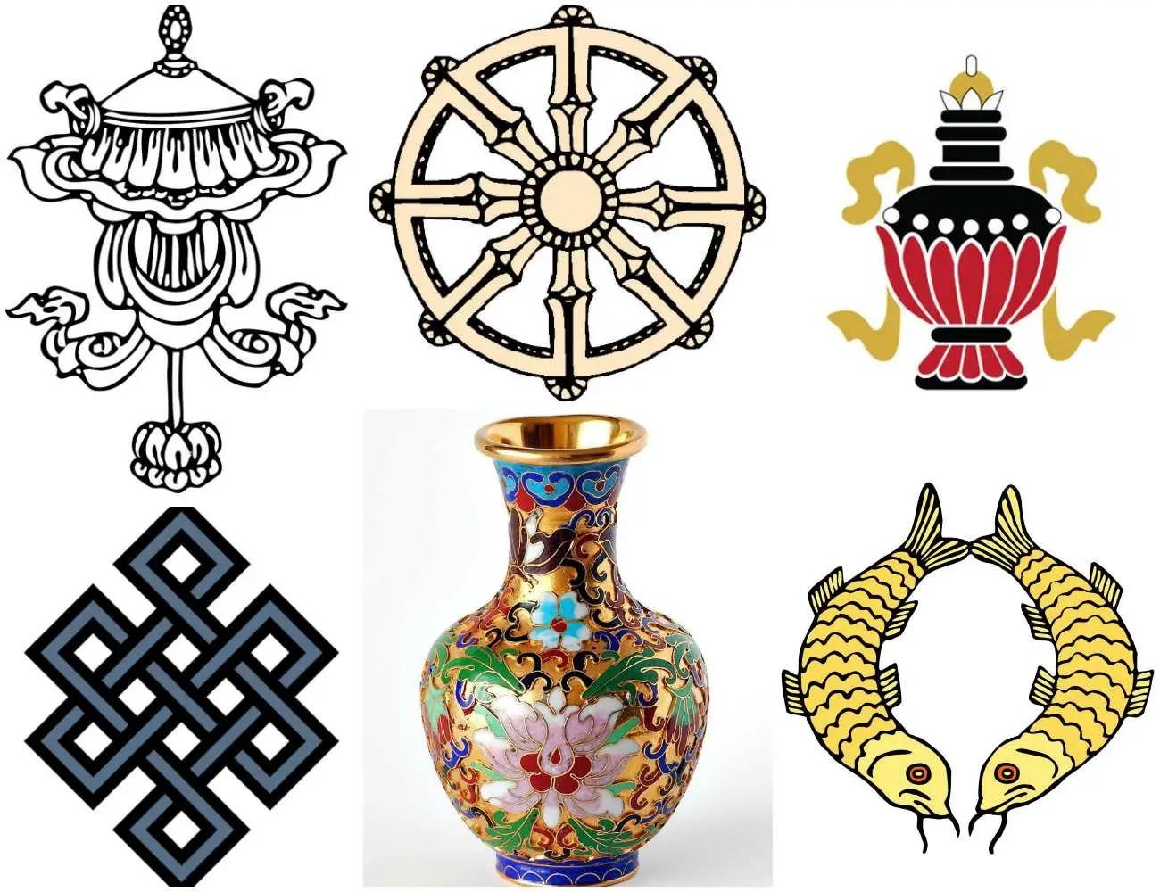 Ancient Buddhism Symbol