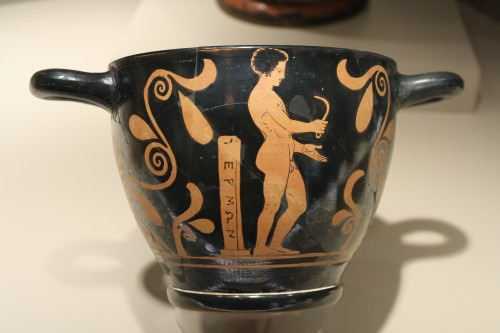 Greek Athlete With Strigil