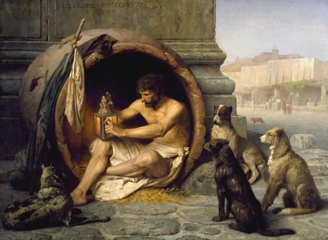 Image result for Ancient Greek Diogenes