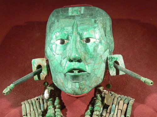 Jade Death Mask of Kinich Janaab Pacal