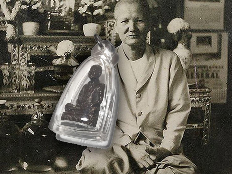 Mae Chee Bun Ruean Buddhist Nun Statuette Wat Awut