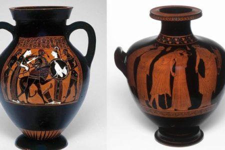 Ancient Greek Vases Patterns Ancient Egypt Path Decorations