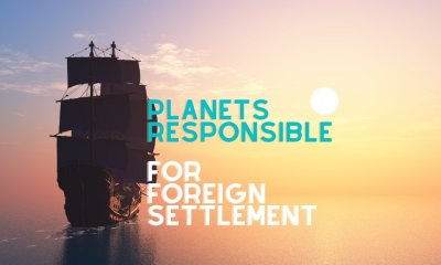 Which Planets are responsible for foreign settlement