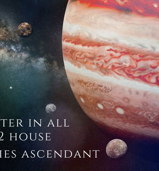 jupiter in all 12 house for aries