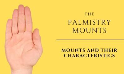 PALMISTRY MOUNTS AND ITS CHARACTERISTICS