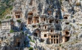 Turkey-Myra-rock-tombs
