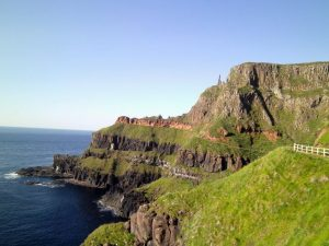 Giants Causeway on recent tour of Ireland