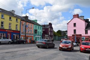 Village of Kinvara on recent tour of Ireland