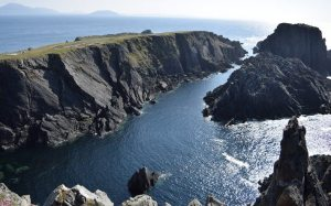 Banba's Crown at Malin Head on recent tour of Ireland