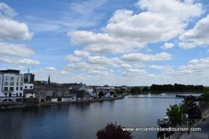 Tours of Ireland Shannon View from Athlone Castle