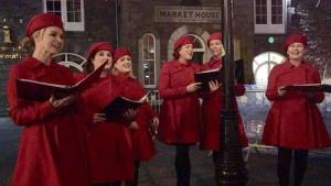 Ireland vacations Christmas Carolers