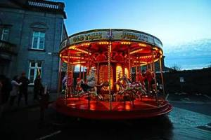 Ireland vacatiosn Chrtmas Carousel