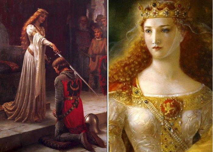 תוצאת תמונה עבור Eleanor of Aquitaine