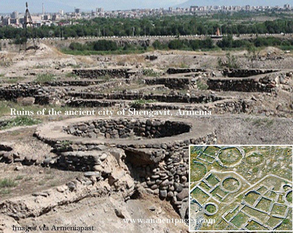 Shengavit ruins Armenia