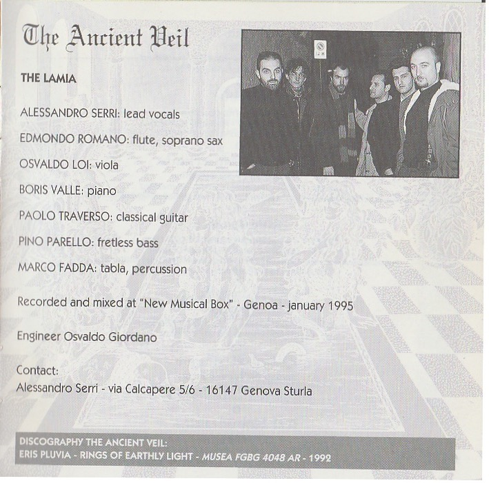 The River Of Constant Change - Ancient Veil - 1997