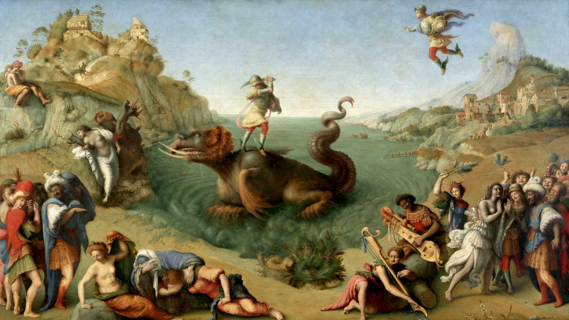 Perseus And The Sea Monster