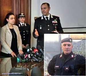 Vicini al brigadiere Giangrande, a sua figlia Martina e a tutta l'Arma in servizio