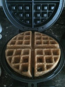 It's waffle time