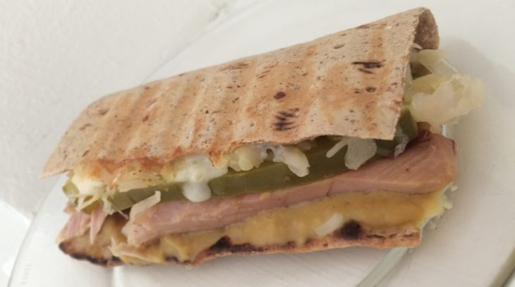 Cuban Inspired Panini with Sabra Spreads