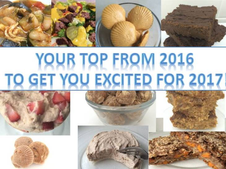 Top 10 recipes from 2016 to get you excited for 2017 and a dash of cinnamon