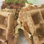 Matcha and Green Apple Protein Waffle [Clean, Vegan, GF]...And A Dash of Cinnamon