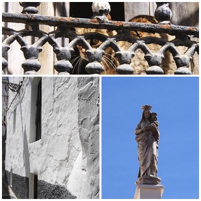 Semana santa tolox sierra de las nieves Easter Sunday parade narrow streets