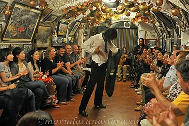 Flamenco Maria La Canastera